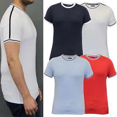 b4bfb1ac2d1b Clothing, Shoes & Accessories Mens T Shirt Brave Soul Short Sleeved Saladin Cotton  Crew Neck Top ...