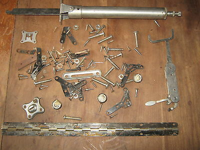 Victrola Hardware  Lots Of Screws Bolts  Hindge Knob More See Pictures Vv-216