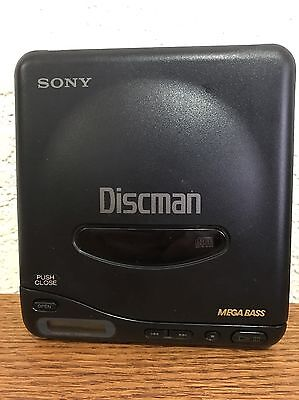 Sony D-11  Compact Cd Player Portable Discman Walking Car Cd Player