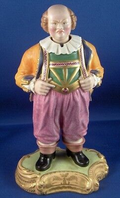 Rare 19thC Minton Porcelain Easy Johnny Nodder Figurine Figure English England