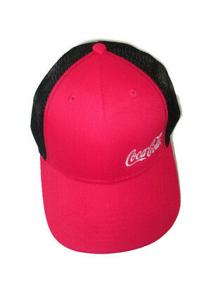 Coca-Cola Mesh Cap with Velcro Back - BRAND NEW