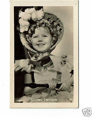Shirley Temple Actress Vintage Ross Photograph card 2.5 x 1.5 inches  #14