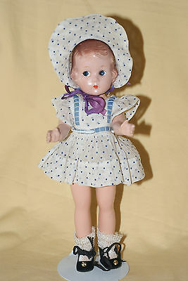 "Little Vintage Effanbee 9"" Composition Doll"