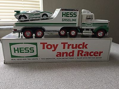 1991 Hess Toy Truck and Racer ~  New in Box