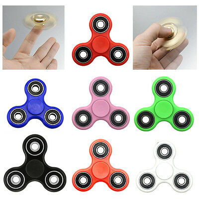 3D Fidget Hand Finger Spinner Focus Stress Reliever EDC Toys For Kids Adults ADD