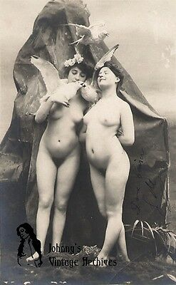 Victorian Nude Couples & Lesbians Photos Pictures on CD