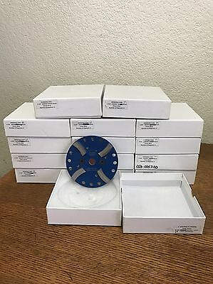 "Werkmaster 4 3/4"" 100 Grit Soft Grinding Disks Clockwise New In Box 15 Units"