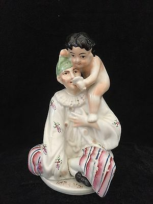 ANTIQUE PORCELAIN FIGURINE , DAMAGED ,FOR RESTORATION ,20 cm height