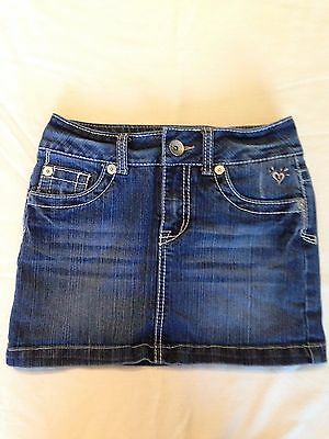 Justice girls denim skirt/skort size 10