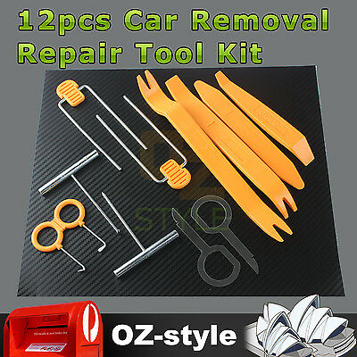 OZ Auto Dash Panel Fascia DVD Stereo Radio Door Trim Remover Removal Tools Kit