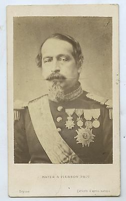 C1865 Cdv Emperor Napoleon 111 Of France Mayer & Pierson Photo D14
