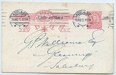 1913 Pt Ub Pre-Stamped Postcard Royal Live Stock Show Jubilee Grounds Adel. D17