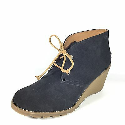 52eb624a90a Sperry Top-Sider Stella Prow Women s Size 10 M Black Suede Wedge Ankle Boots .
