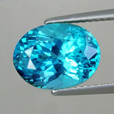 1.30Cts Extremely Best Quality Gem - Natural Paraiba Hue Neon Blue APATITE ZZ30