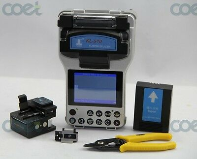 JILONG KL-510E Optical Fiber Fusion Splicer Welding Splicing Machine