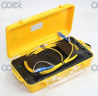 OTDR launch Cable Box SM 1KM ,Fiber Ring Otdr Launch Cable,Dead Zone Eliminator