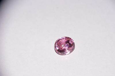 Lovely oval cabochon cut 15 mm x 12 mm natural Pink Tourmaline gem gemstone