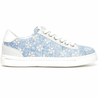 Nero Giardini junior sneakers jeans P732192F scarpe in pelle estate 2017