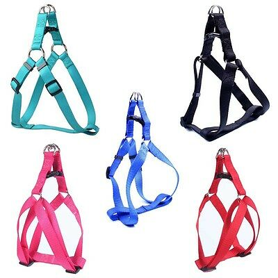 Small Pet Dog Cat Control Harness Step in Walk Collar Safety Strap Vest Size S-L