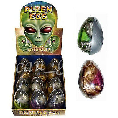 UK Kids Alien Egg Embryo Goo Craze Favor Toys Play Party Gift Loot Bag Filler
