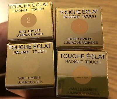 Yves Saint Laurent Touche Eclat 2.5 ml Radiant Touch Concealer UK SELLER BNIB