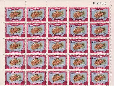 South Sudan 2008 Full Sheet 2Sgd On 8 L.s Stamps Mint Never Hinged