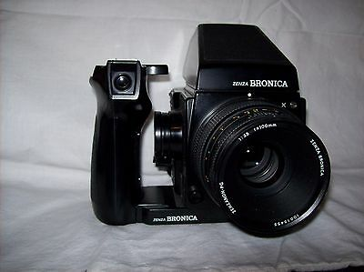 Zenza Bronica GS-1 camera with lens & speed grip G