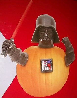 Star Wars Darth Vader Pumpkin Push-Ins Set - HALLOWEEN PUMPKIN PUSH-IN