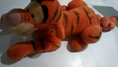 "Tigger plush 22"" + spring tail walt disney world"