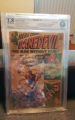 Daredevil 1 CBCS 1.8 Pence edition 1st Appearance of Daredevil