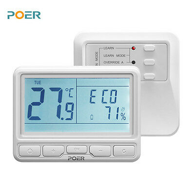 868MHz wireless boiler room digital thermoregulator wifi thermostat for warm