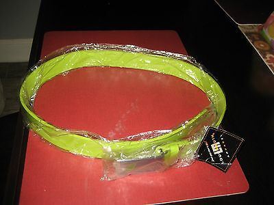 MENS Loudmouth GOLF green thunder Patent Leather Belt 36'' NWT $59.99