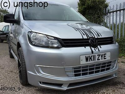 VW Caddy Front Bumper spoiler 2010-ON