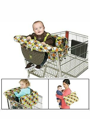 Jeep 2-in-1 Shopping Cart and High Chair Fabric Cover, Universal Size, Baby.(F54
