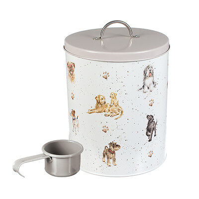 Wrendale Designs Dog Food Storage Tin with Scoop