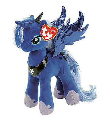 "Princess Luna Beanie Plush Soft Toy, My Little Pony 10"" (25cm)"