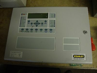 Stanley Series 6000 Fire Alarm Control Panel System Unit Mount Emergency Tested