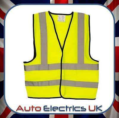 New Car Warning High Visibility Vest Jacket European Travel Free Post