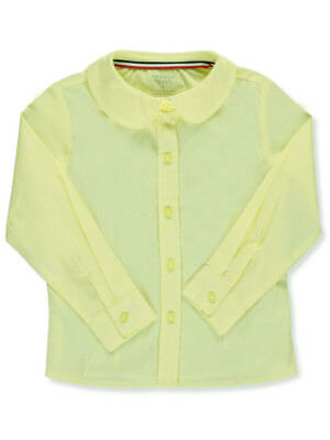French Toast Little Girls' L/S Peter Pan Blouse (Sizes 4 - 6X)