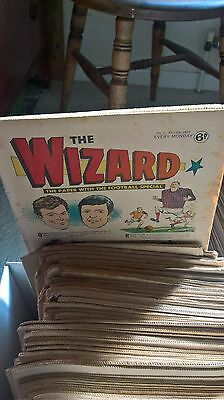 THE WIZARD COMIC,  Collection 1971 - 1978  plus some from 1970