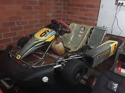 125cc TAG Restricted GoKart