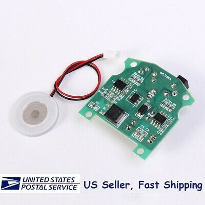 Ultrasonic Mist Maker Atomizing Fogger Humidifier Module D20mm 113KHz w/PCB