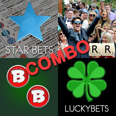 Horse Racing Software COMBO!  StartBets, RaceRatings, BetterBets, and LuckyBets!