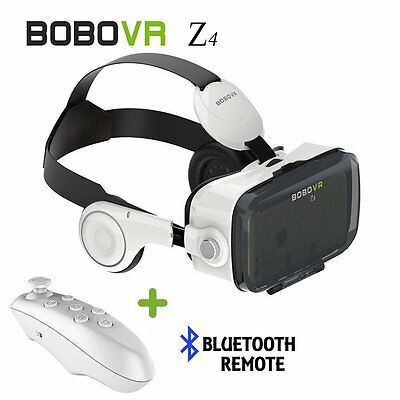 3D Virtual Reality BOBOVR Z4 VR Box Glasses Headset + Remote For Cardboard Game