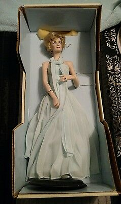 Franklin Mint: Diana Princess of Wales Porcelain Doll