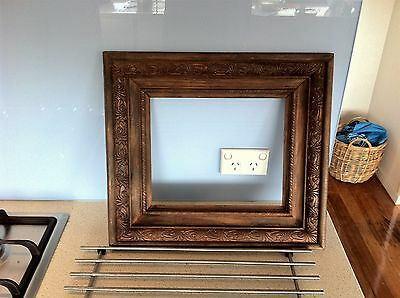 Ornate Timber  Picture Frame -Victorian Era