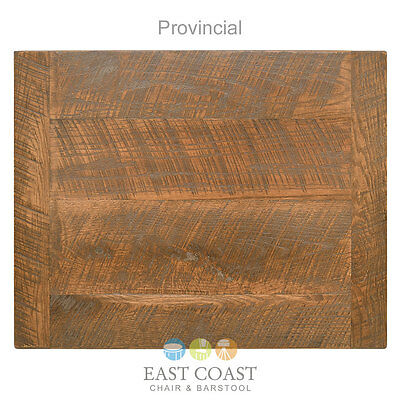 """New 30"""" x 48"""" Economy Urban Distressed Table Top, Provincial Finish"""