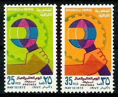 IRAQ IRAK IRAQI 1972 Labor Day SC 654 SG 1046 SET MNH