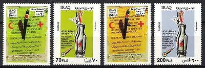 IRAQ 1st Gulf War Death Of Iraqi Prisoners Set SCOTT# 1198 - 1201 MNH SCARCE