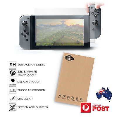 Nintendo Switch Tempered Glass Screen Protector Anti Scratch Shock Absorbtion